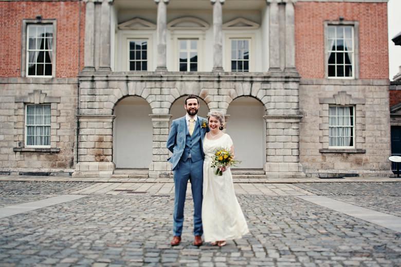 Bride and Groom in Dublin