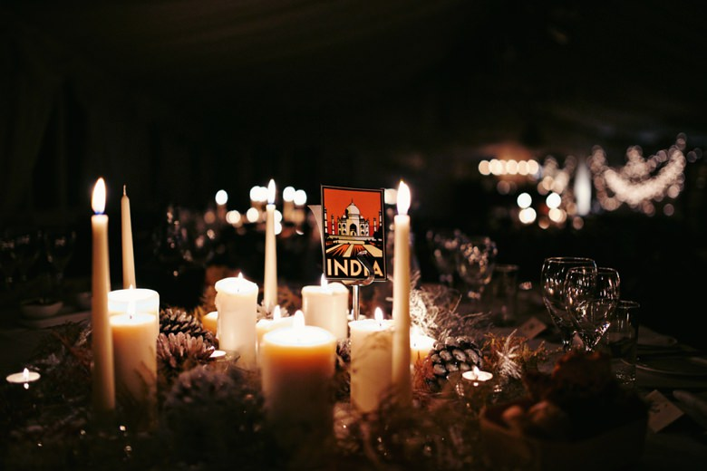 beautiful decor at wedding