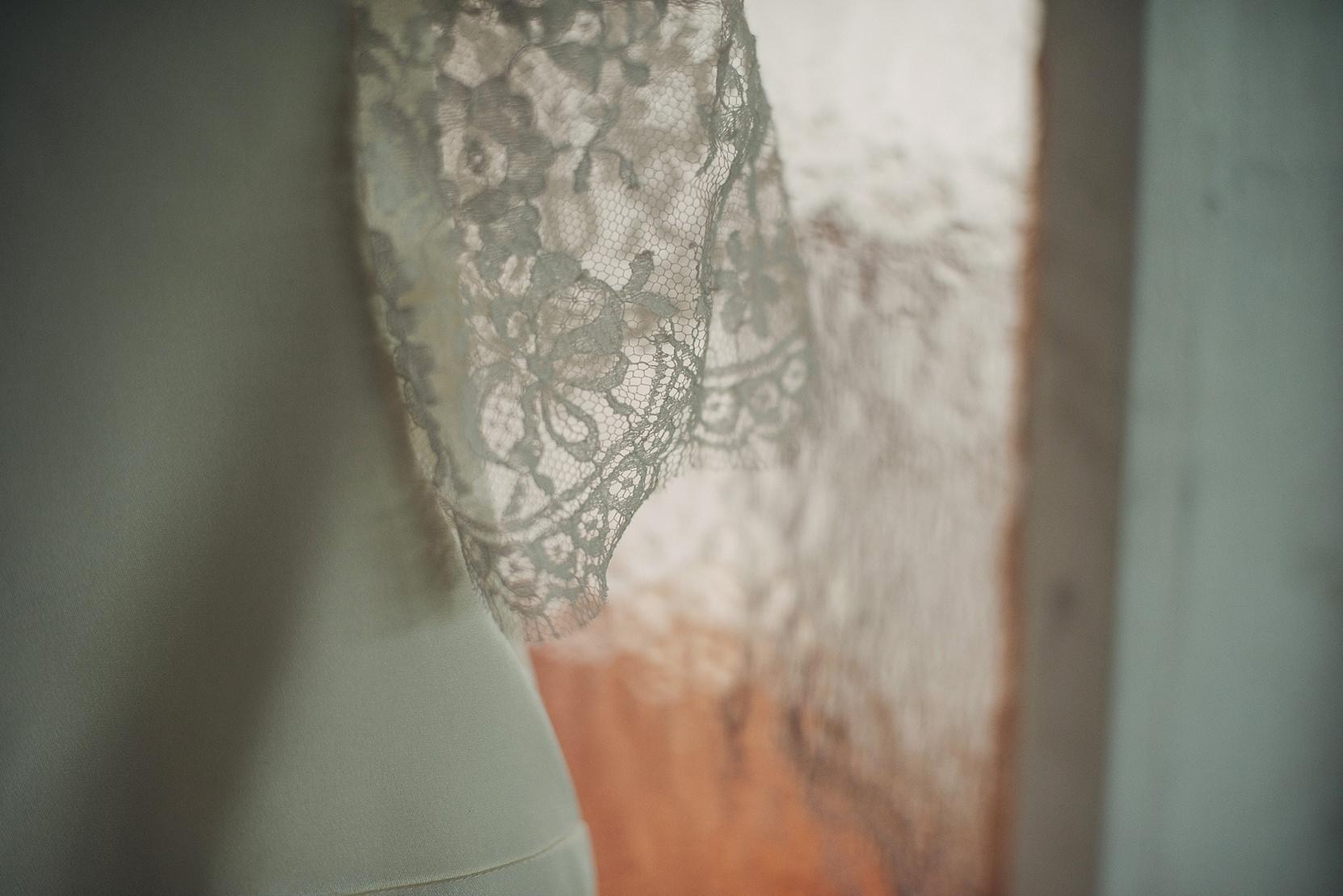 Wedding Dress from Paris Detail on Sleeve