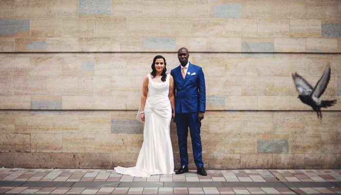 Donna & Kwa Belfast Wedding Photographer at The Empire Music Hall