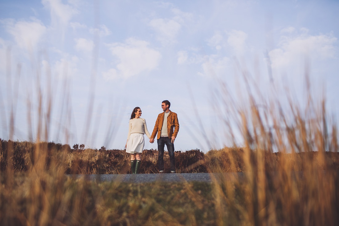 Pre-wedding Shoot at Lough Tay