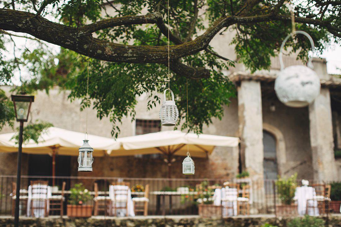 Borgo di Tragliata courtyard