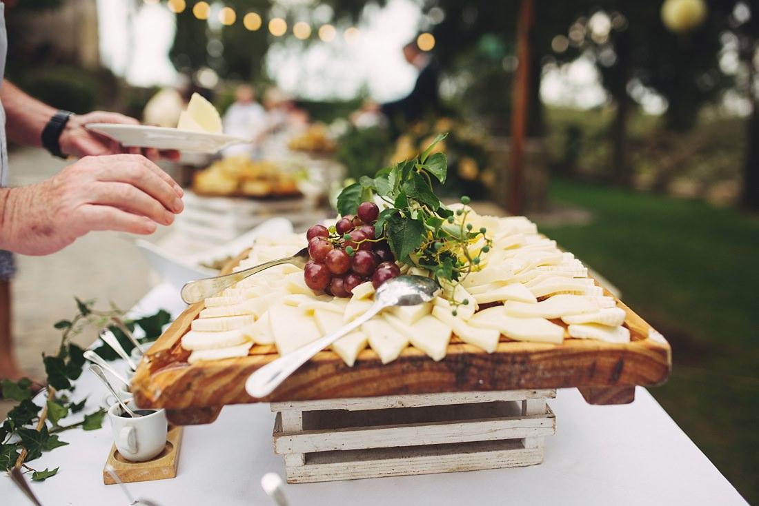 Wedding Food in Italy