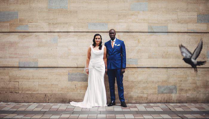 Donna & Kwa Belfast Wedding Photographer at The Empire Music Hall
